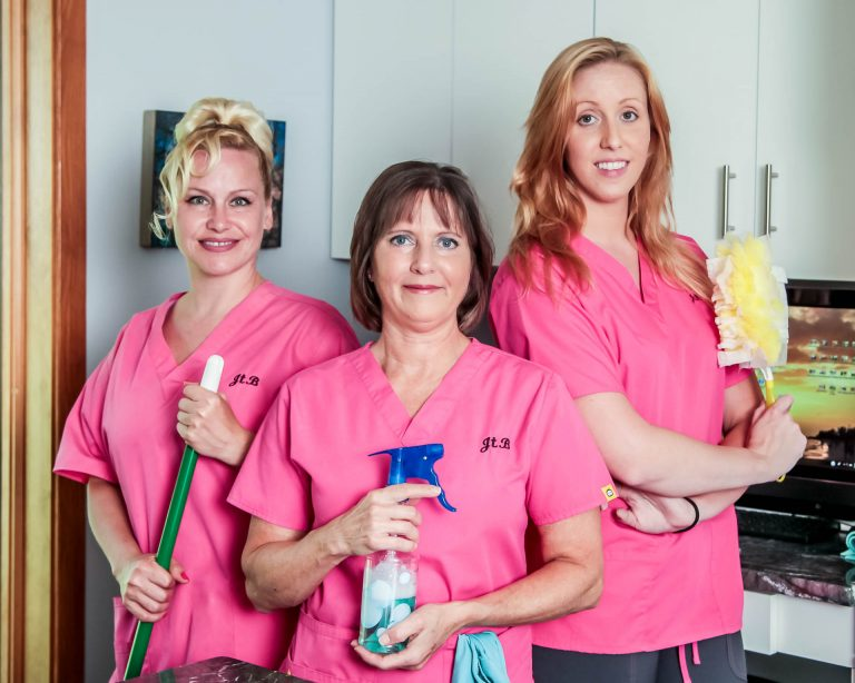 One of our Residential & Commercial Cleaning Teams